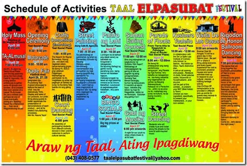 It's More Fun in 2012 Taal El Pasubat Festival