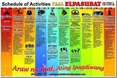 It's More Fun in 2012 Taal El Pasubat Festival